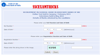 sbi associate clerk scorecard 2015
