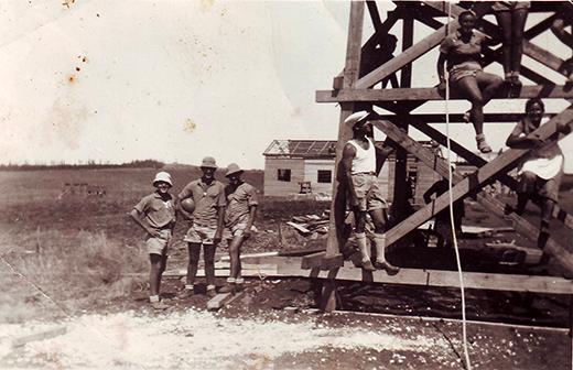 כפר נטר יום העלייה לקרקע 1939