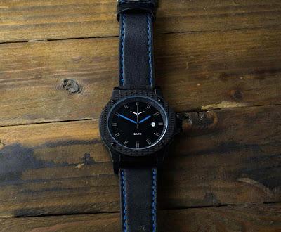 Zinvo One watch with black DLC case