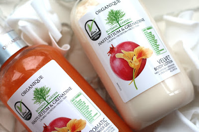Organique Shower Gel & Body Lotion Review: G Beauty