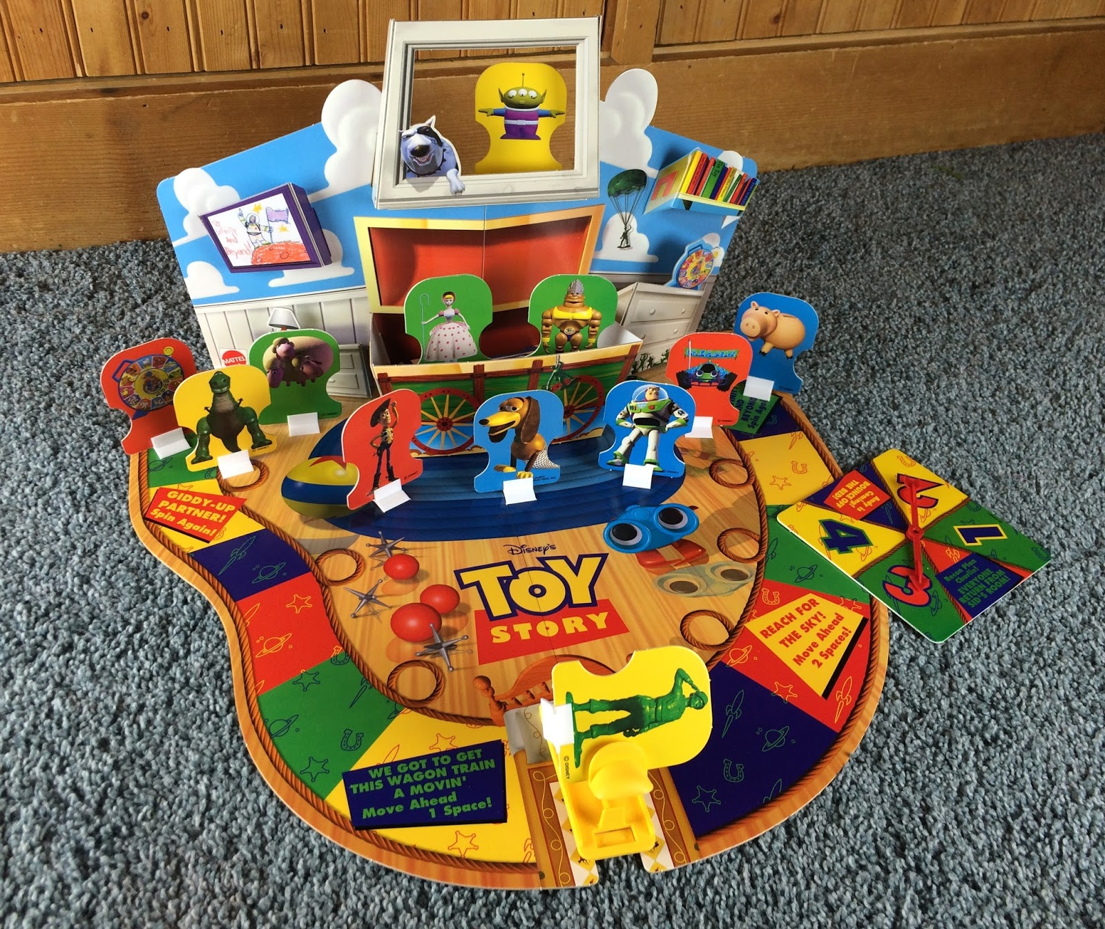 Toy 3 Games : Dan the pixar fan toy story quot toys awaaaay board game