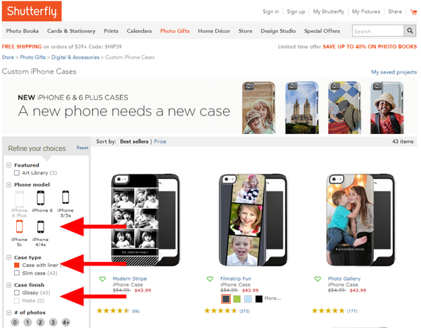 uk availability 77e17 1bca9 dotted with dots: Shutterfly iPhone 5c Case
