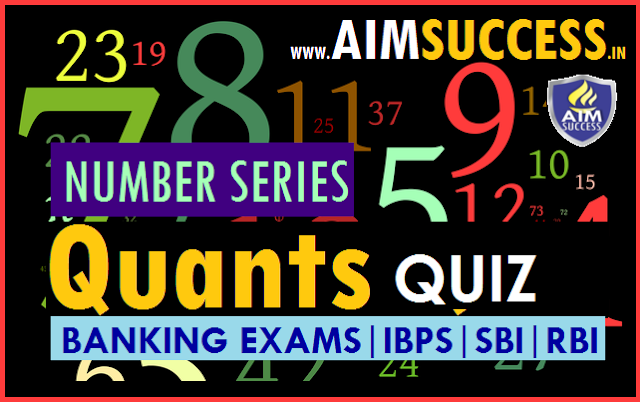 Series MCQ for SBI PO/Clerk 2018: 22 May