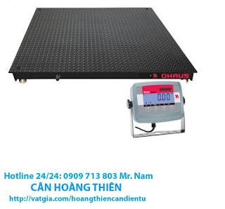 Cân sàn điện tử 5 tấn Ohaus T31p tại tphcm