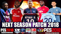 PES 2010 Patch 2018 Winter Transfer Latest Update