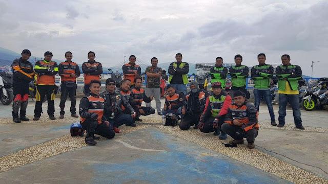Ketua DPRD Bombana Jamu Komunitas NMAX Owners Asal Wajo