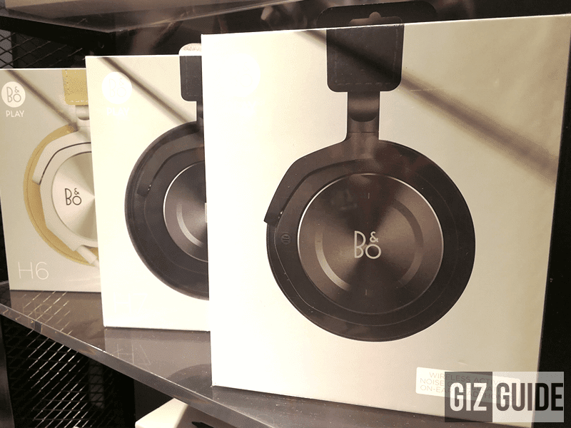 B&O headphones!