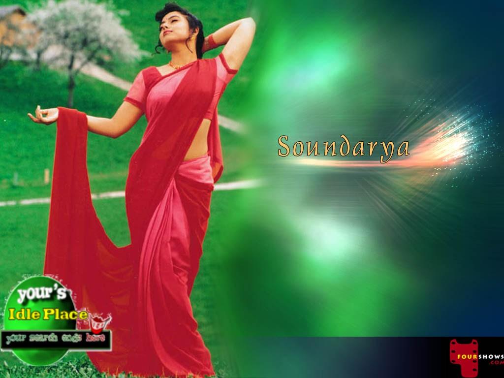 Actress Hot Stills Soundarya Photo Collection-2675