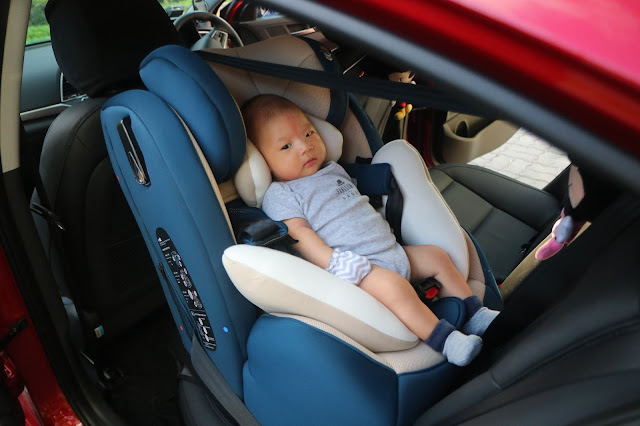 29e76abb09ab6 My Happy Place   Review  Fedora C3 Organic Car Seat ISOFIX Review