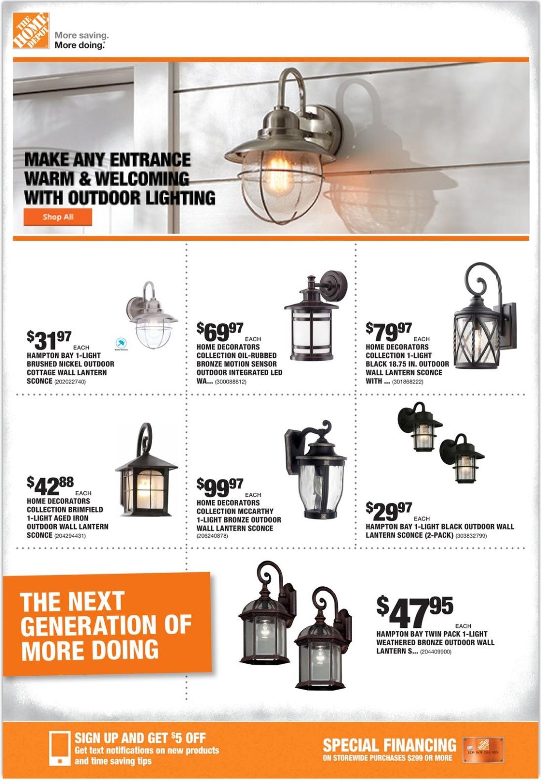 Home Depot Ad Flyer September 26 October 3 2019