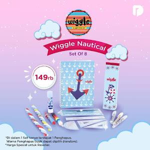 Wiggle Nautical Set of 8
