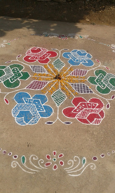 Rangoli Design for Pongal 33