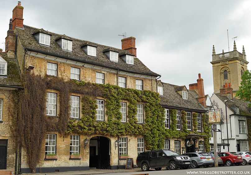 The ivy clad exterior of Macdonald Bear Hotel