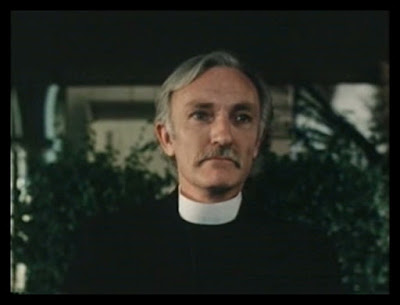 "Actor John F. Kearney playing a priest in the Gary Graver ""classic"" SOCIETY AFFAIRS (1982)"
