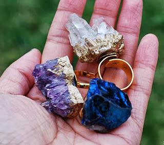Kristallerden Yüzük Yapımı