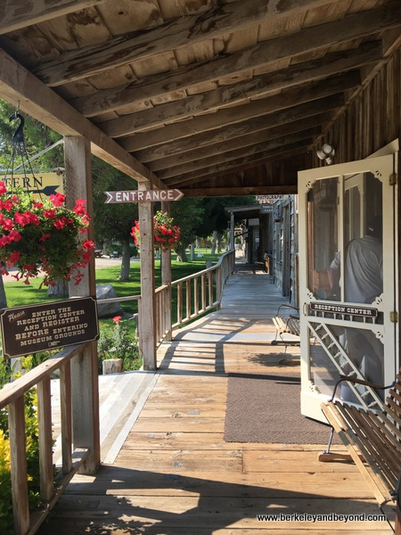visitor center at Laws Railroad Museum and Historic Site in Bishop, California