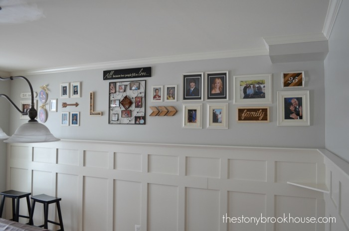 Updated Gallery Wall Full View