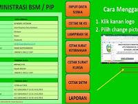 Aplikasi Administrasi BSM Dan PIP Sekolah Versi 2017/2018
