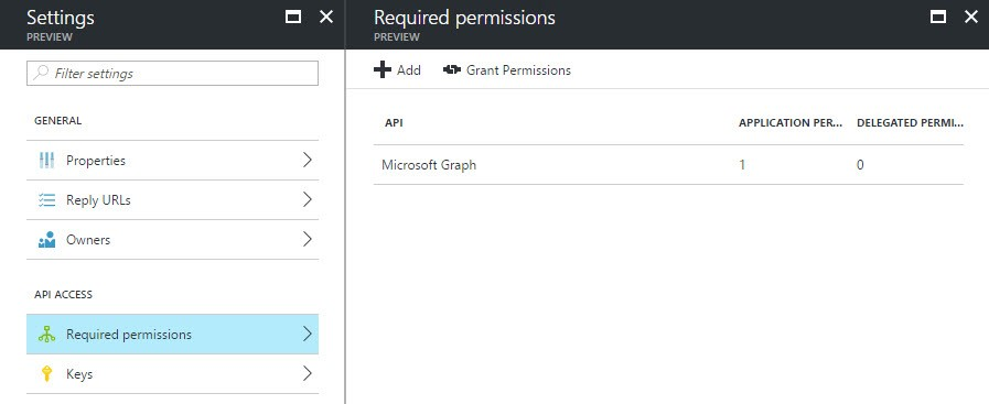 consent ui for administrative applications not showing