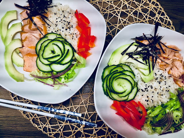 🍱 sushi bowl czyli sushi dla leniwych