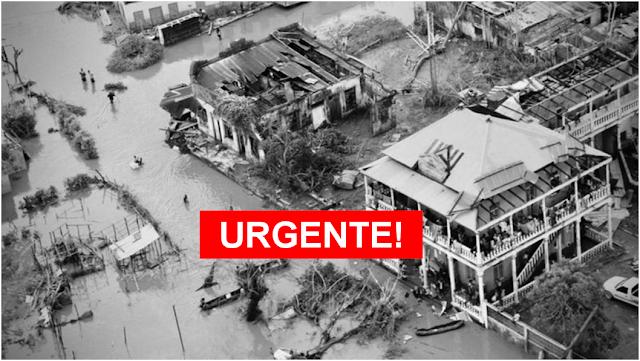 Novo ciclone deve atingir Moçambique nas próximas horas, ameaçando 700 mil pessoas