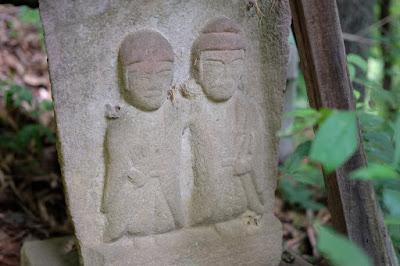 生坂村大日向の石仏 道祖神