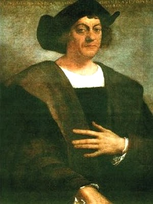 Pintura de Cristobal Colón