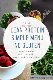 lean protein no gluten thr1ve vegetarian meals