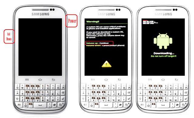 Cara Mengatasi Bootloop Pada Samsung Galaxy Chat Gt B5330 Spot Info86