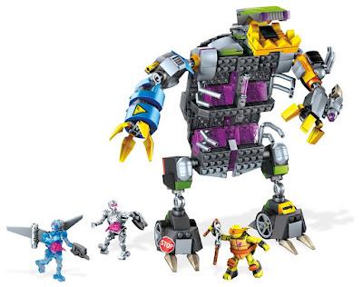 TOYS : JUGUETES - MEGA BLOKS Las Tortugas Ninja  Robot Tortuga Mecánica Transformable  Teenage Mutant Ninja Turtles - Transforming Turtle Mech  Producto Oficial Serie Television 2016  Mattel DPF66 | Piezas: 504 | Edad: +7  Comprar en Amazon España & buy Amazon USA