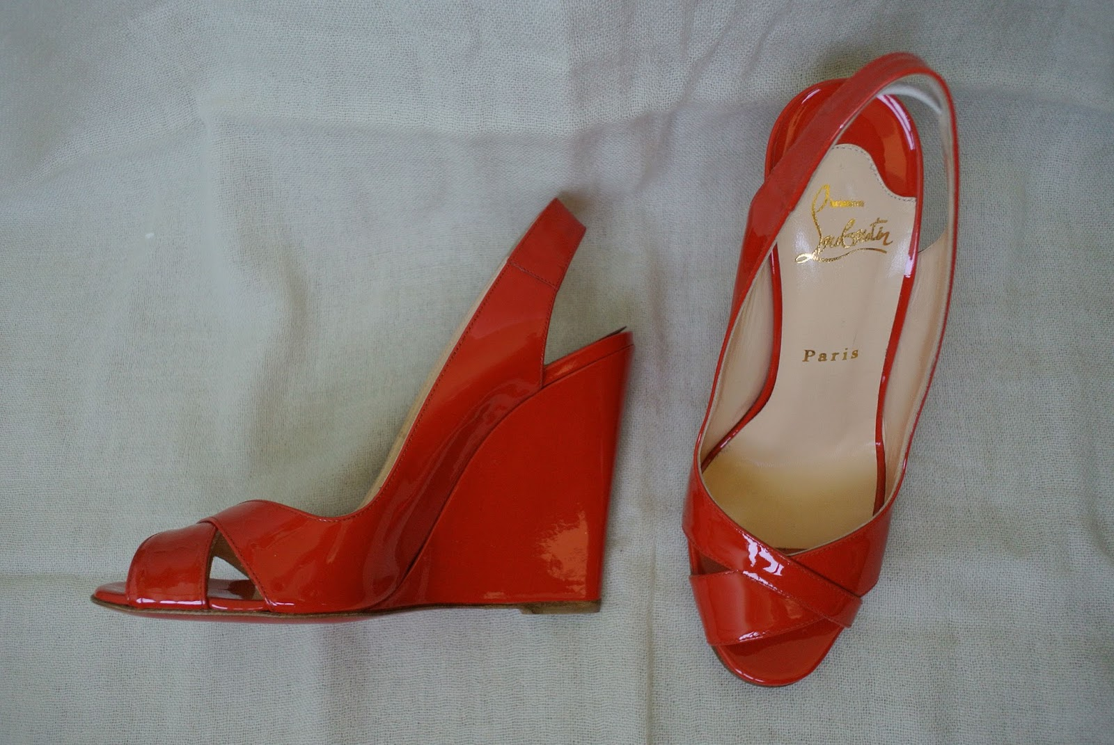 Soften Patent Leather Shoes