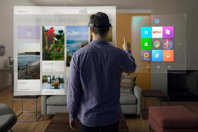 Microsoft Realidad aumentada