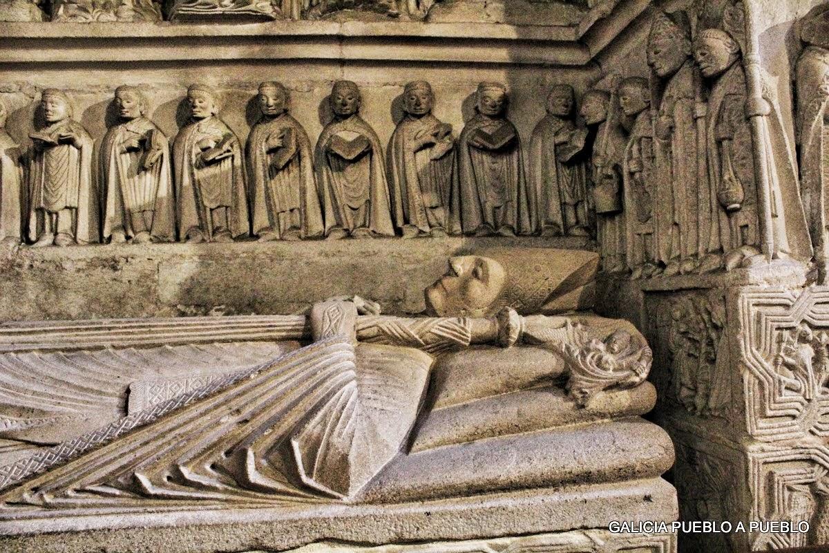 Sepultura en la catedral
