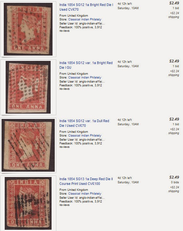 GANDHI STAMPS CLUB: Rare antique Indian stamps value : India