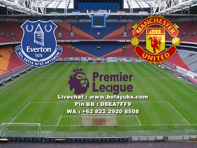 Prediksi Bola Liga Inggris Everton Versus Manchester United 02 januari 2018
