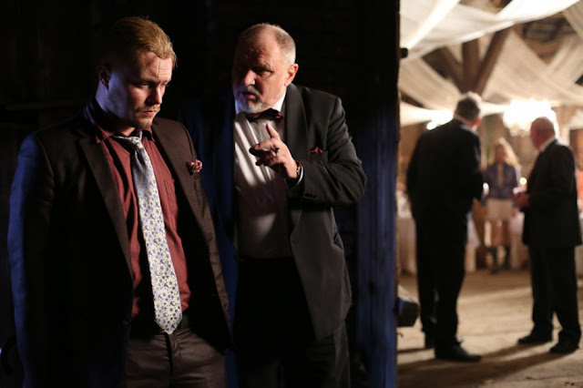 Jasny and his father worrying their heads to protect the family dignity and stop rumors about Piotr as the wedding celebration reaches to maddening stage