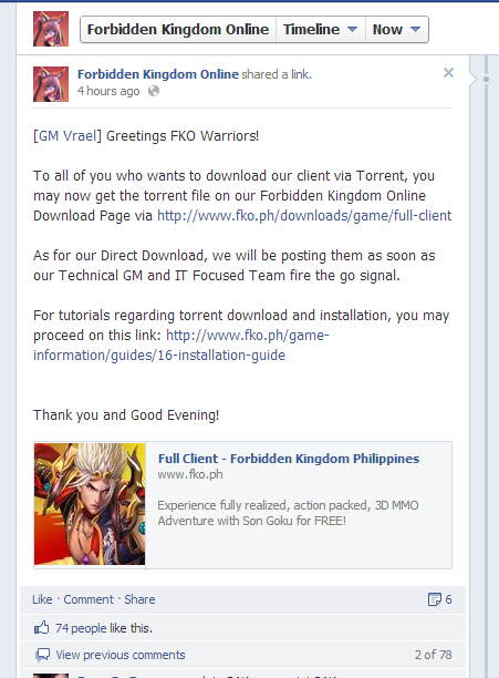 Forbidden Kingdom Online Philippines - RF Guild Guides and