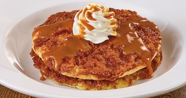 Denny S Introduces New Dulce De Leche Crunch Pancakes