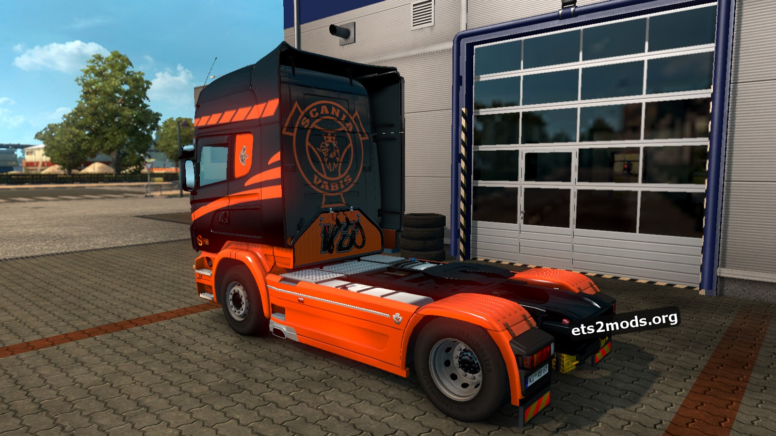 Scania RJL Clockwork Lady Skin
