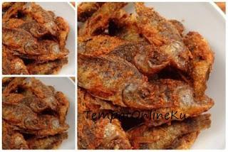 baby fish nila goreng