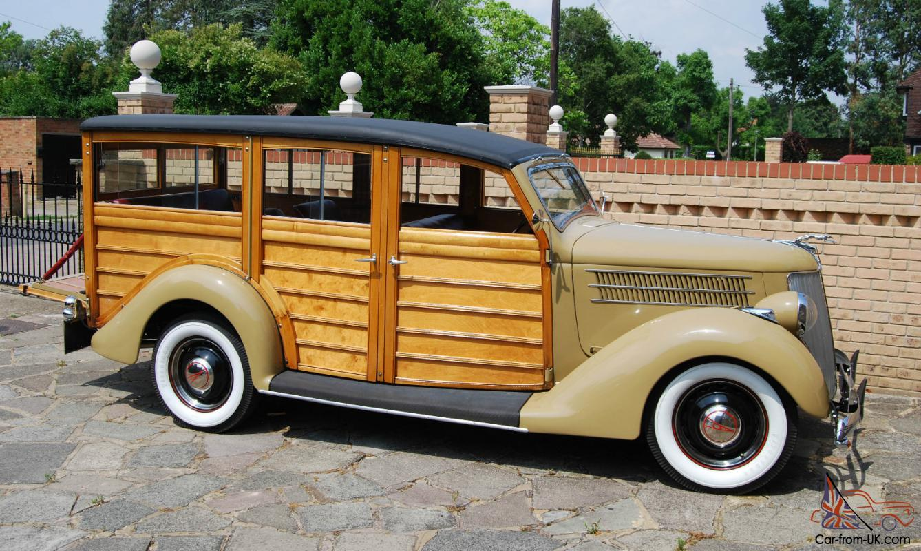 Cronulla Pre-WWII Vintage Car & Bike Show: NEW: 1936 Ford Woody with ...