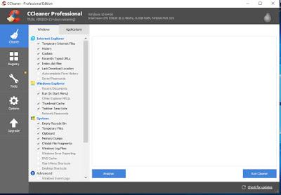 تحميل برنامج ccleaner  لتنظيف ملقات الويندوز
