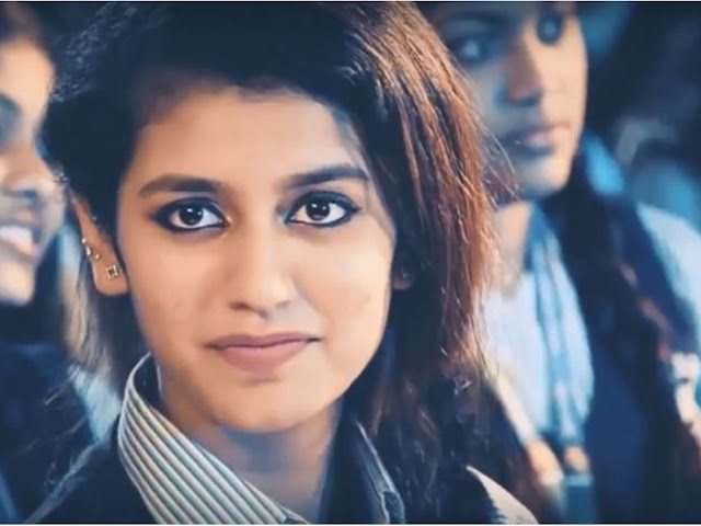 Actress Priya Prakash Varrier Social media viral girl with a wink Photos