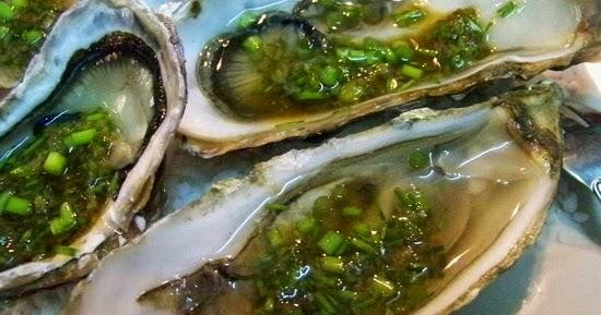 Cuisine en folie: Huîtres à la japonaise