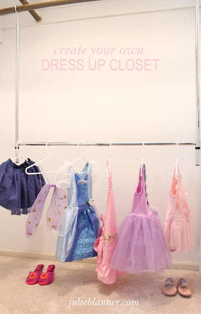 Create Your Own Dress Up Closet