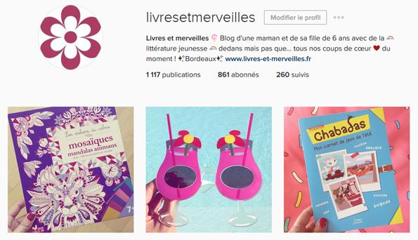 Livres et merveilles sur Instagram - Mois de juillet 2016