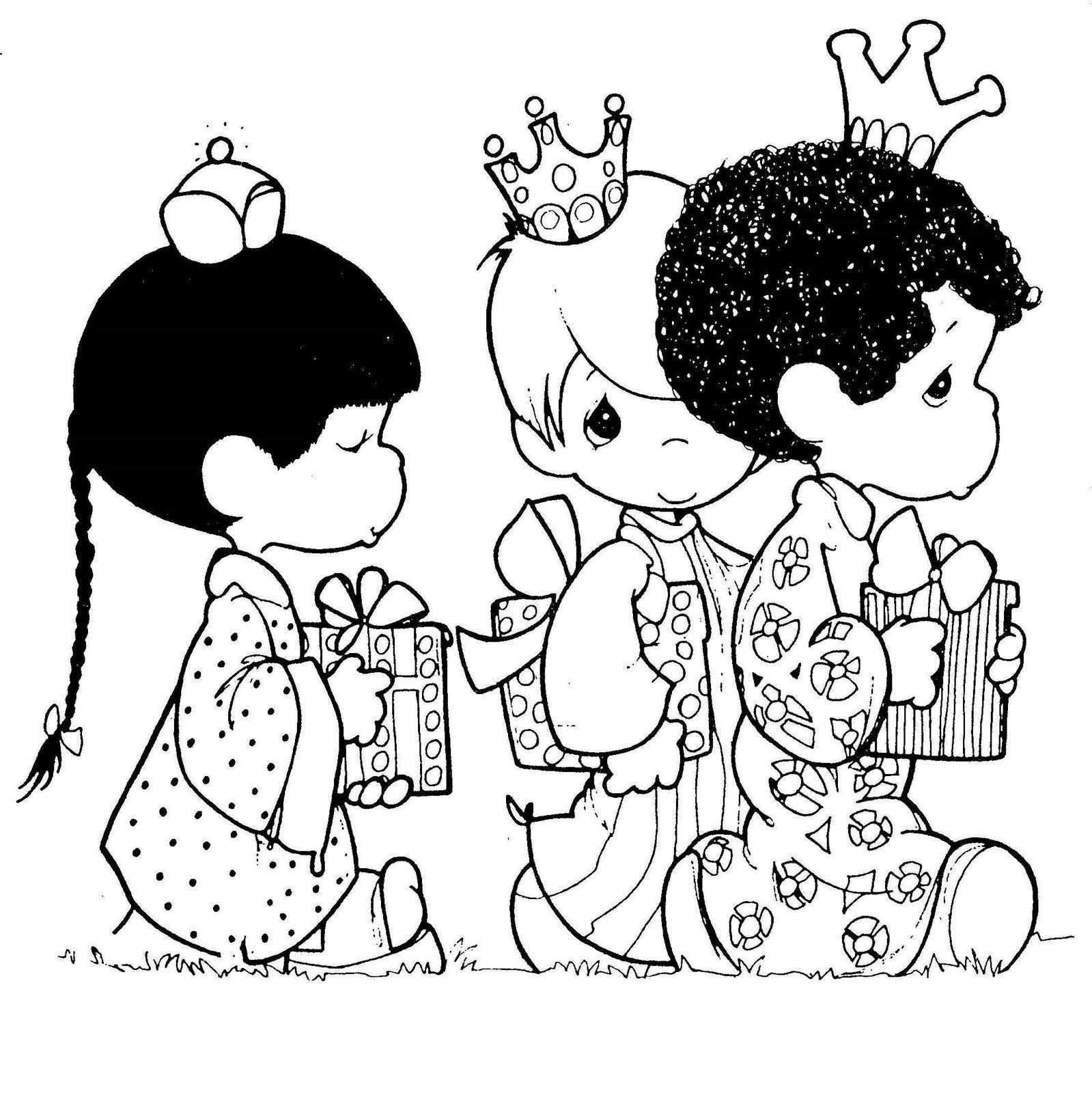 imagenes de regalos de navidad para colorear