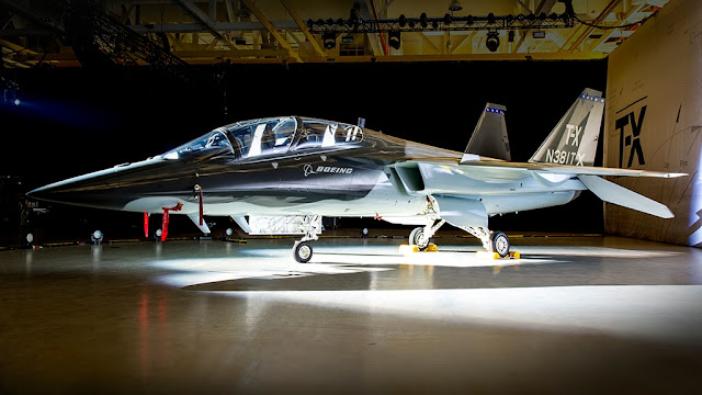 (VIDEO) NEW BOEING T-X IN ACTION