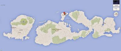 Lokasi Pulau Moyo - Kado Pernikahan Unik