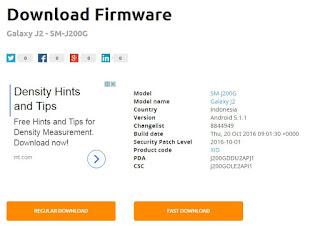 Download FIrmware Samsung J200G BI